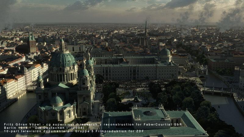 3d Rekonstruktion von Berlin 1900 / image by FaberCourtial, 2008