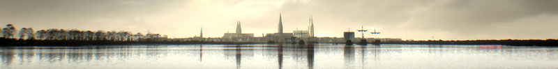 Lübeck um 1450 / Helsingborg um 1350 - 3D Illustration - FaberCourtial GbR für Peter Prestel Filmproduktion / ZDF