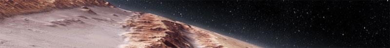 Mars – Valles Marineris / Protonilus Mensae - Terrain Generation - parallax raumprojektion für Deutsches Zentrum für Luft- und Raumfahrt (DLR) / Servus TV