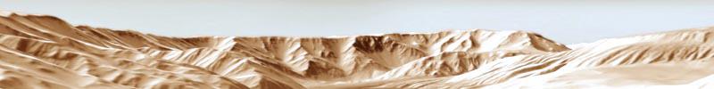 Valles Marineris - Stereo-3D-Animation - Parallax Raumprojektion für Deutsches Zentrum für Luft- und Raumfahrt