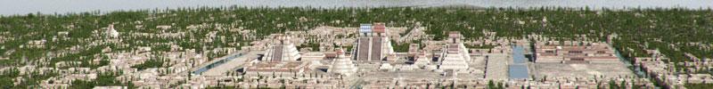 Tenochtitlan - Archäologische Rekonstruktion